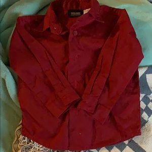 Baby dress shirt holiday editions 6/9mos